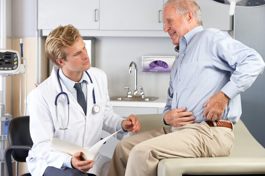 evaluation with an orthopaedic surgeon